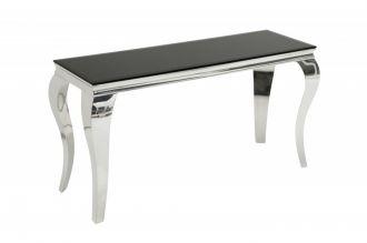 konzolový stolek MODERN BAROCCO 140-BLACK