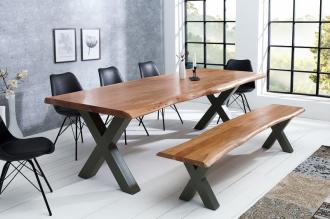 jídelní stůl MAMMUT HONEY 200-X masiv akácie