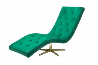 Křeslo RELAXO smaragdově zelené
