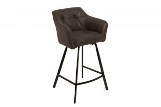 Barová židle LOFT ANTIK GREY