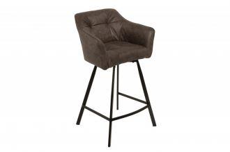 Barová židle LOFT TAUPE GREY