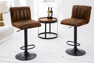 Barová židle PORTLAND BROWN