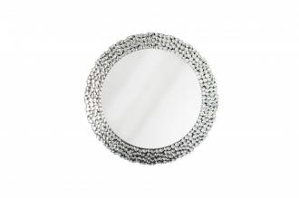 Zrcadlo kulaté BIG DIAMONDS 80 CM s krystaly