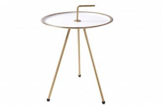 Odkládací stolek SIMPLY CLEVER 42 CM bílý