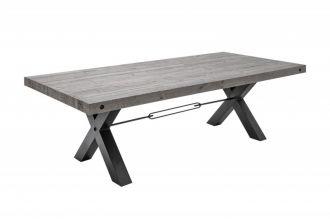 Jídelní stůl THOR GREY 240 CM masiv borovice