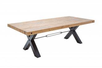 Jídelní stůl THOR NATUR 200 CM masiv borovice