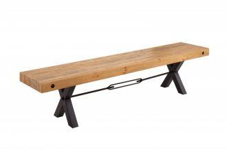 Stolová lavice THOR NATUR 200 CM masiv borovice
