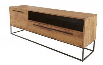 Televizní stolek STRAIGHT NATUR 165 CM masiv akácie