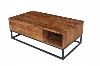 Konferenční stolek MAKASSAR NATUR 110 CM masiv sheesham