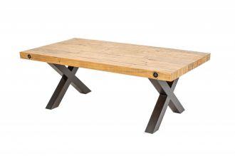 Konferenční stolek THOR NATUR 120 CM masiv borovice