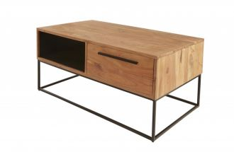 Konferenční stolek STRAIGHT NATUR 110 CM masiv akácie