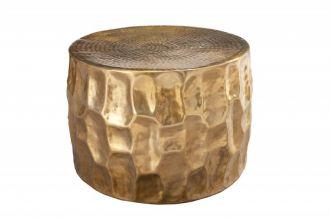 Konferenční stolek ORGANIC ORIENT 55 CM zlatý