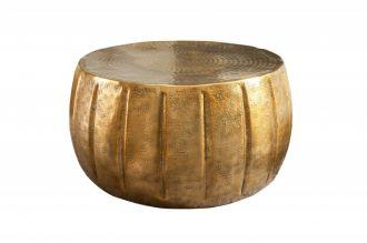 Konferenční stolek MARRAKESCH 65 CM zlatý