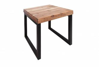 Odkládací stolek ELEMENTS 45 CM masiv akácie