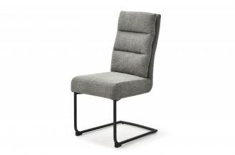Konzolová židle COMFORT šedá strukturovaná látka
