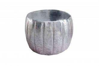 Konferenční stolek MARRAKESCH 55 CM stříbrný