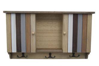 Závěsná skříňka na klíče LIGNES 42 CM