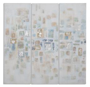 3SET plátěné obrazy IMPRESSION 90 CM