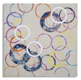 Plátěný obraz CIRCLES A 80 CM
