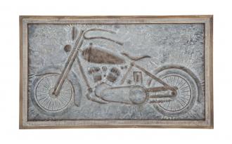 Nástěnná dekorace MOTOR 57 CM