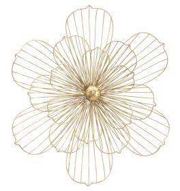 Nástěnná dekorace FLOWERY 54 CM