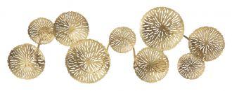 Nástěnné svítidlo GLAM 138 CM zlaté