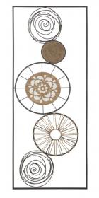 Nástěnná dekorace MASAI B 90 CM
