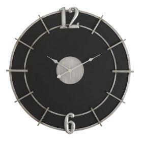 Nástěnné hodiny GLAM SILVER 60 CM