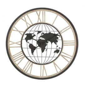 Nástěnné hodiny DARK WORLD 70 CM