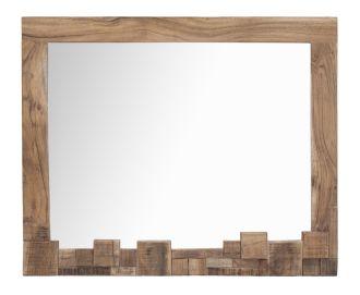 Zrcadlo DEOLA 90 CM masiv akácie