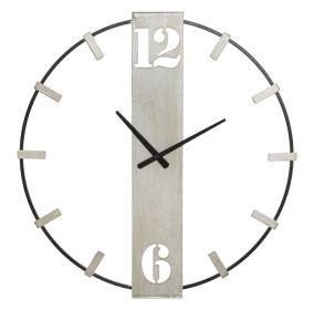 Nástěnné hodiny SILVER 63 CM