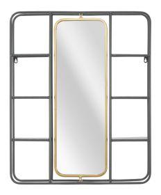 Zrcadlo s poličkou INDUSTRY 74 CM