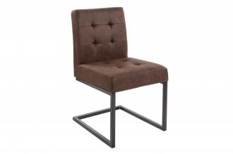 Konzolová židle RODEN vintage hnědá