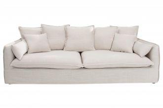 luxusní pohovka HEAVEN 3M WHITE