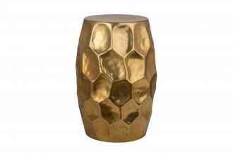 Odkládací stolek ORGANIC ORIENT 30 CM zlatý