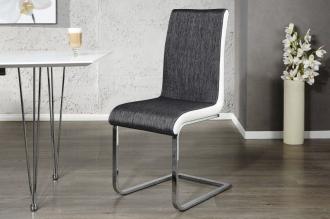 židle METROPOLIS II ANTRACIT-WHITE