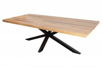 Jídelní stůl GALAXIE NATUR 240 CM masiv recyklovaná borovice