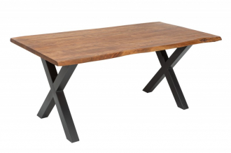 Jídelní stůl MAMMUT 35mm  HONEY 160 CM masiv akácie