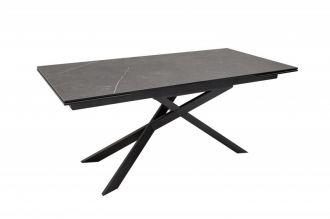Jídelní stůl EUPHORIA GRAPHIT 180-220-260 CM keramika rozkládací