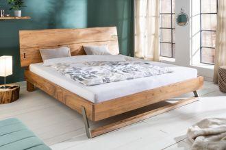 Luxusní postel MAMMUT NATUR 180x200 CM masiv akácie