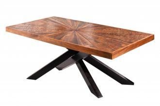 Konferenční stolek WOOD ART 105 CM masiv mango