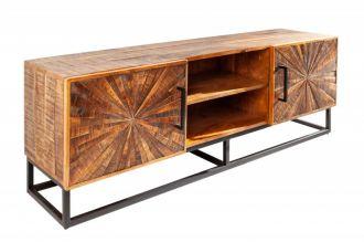 Televizní stolek WOOD ART 145 CM masiv mango