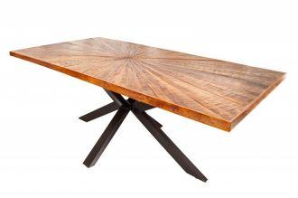 Jídelní stůl WOOD ART 200 CM masiv mango