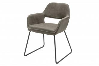 Židle MUSTANG antik taupe mikrovlákno