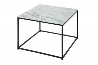 Konferenční stolek ELEMENTS NOBLES 50 CM bílý mramor