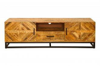Televizní stolek INFINITY 160 CM NATUR masiv mango