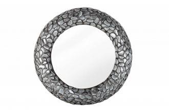 Zrcadlo STONE MOSAIC 82 CM šedé
