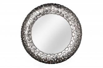 Zrcadlo STONE MOSAIC 82 CM stříbrné