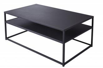 Konferenční stolek DURA STEEL 100 CM černý kov