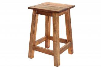 Stolička/odkládací stolek JAKARTA 45 CM masiv recykl
